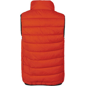 Color Kids Tonny Quilted Waistcoat Kids fiery coral